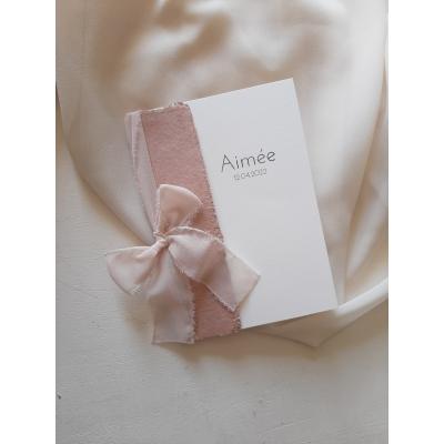 Geboortekaartje Aimée